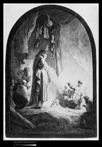 Image 11: Raising of Lazarus: The Larger Plate