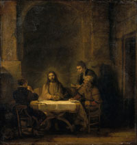 Image 02: The Supper at Emmaus