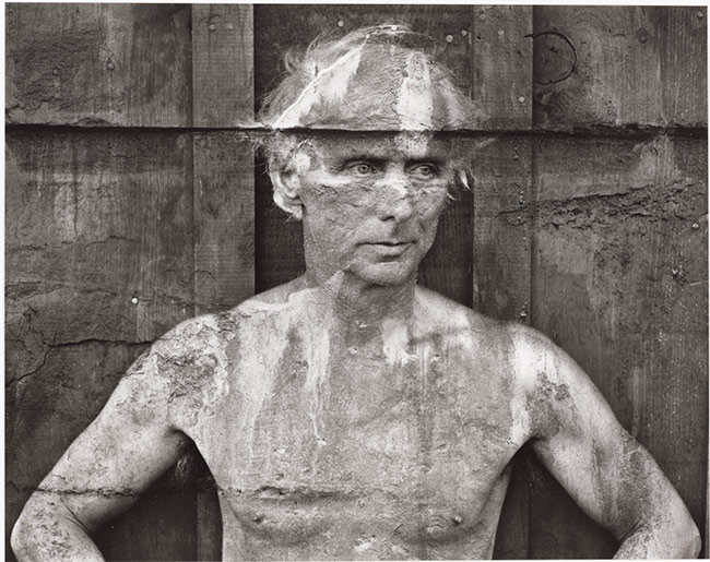 Frederick Sommers photograph of Max Ernst