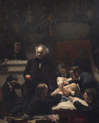 Portrait of Dr. Samuel D. Gross (The Gross Clinic) - Pre Conservation