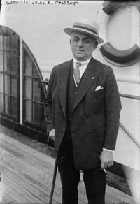 Jules Mastbaum aboard the RMS Majestic