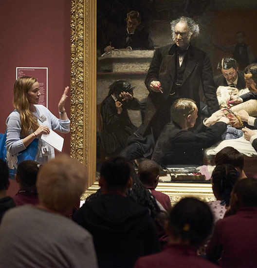 A talk about Thomas Eakins�s Gross Clinic in the American Art galleries