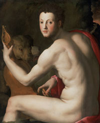Portrait of Cosimo I de' Medici as Orpheus