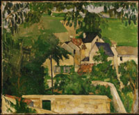Paul Cézanne, Quartier Four, Auvers-sur-Oise (Landscape, Auvers), 1873