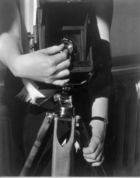 Dorothy Norman XXIV - Hands with Camera
