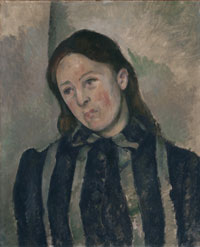 Portrait of Madame Cézanne