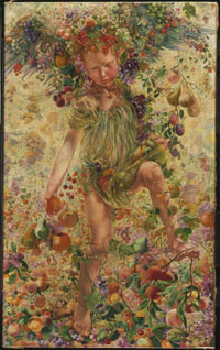 Léon Frédéric, The Four Seasons (Autumn), 1894