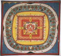 Mandala of Shiva and Shakti