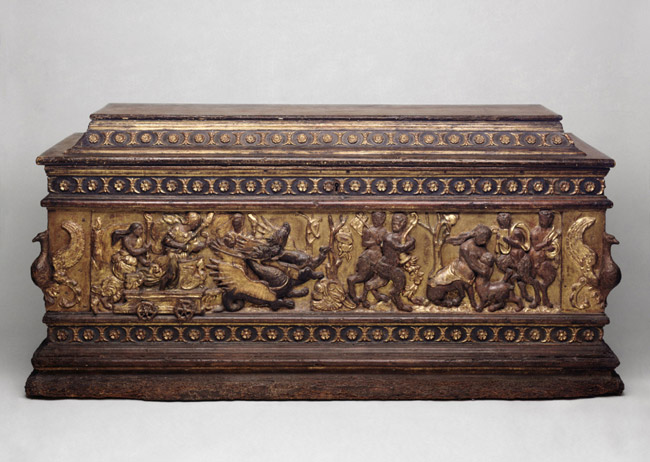 Marriage Chest with Ceres Searching for Her Daughter, Proserpina