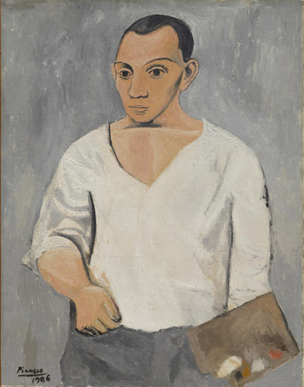 Self-Portrait with Palette