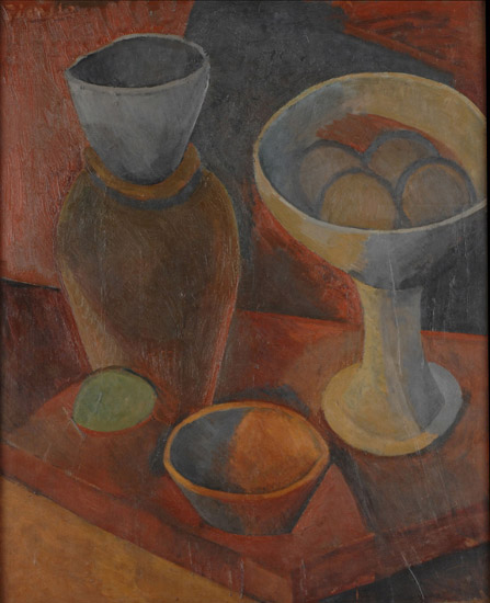 Still Life with Bowls and a Jug