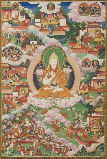 Pictorial Biography of Tsongkhapa