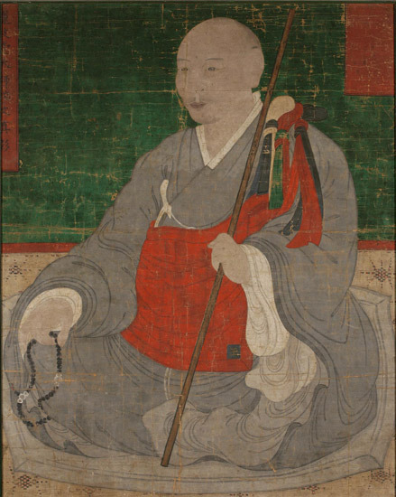 Portrait of a Buddhist Monk