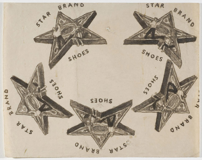 "Untitled (STAR BRAND SHOES ""kaleidoscope"")"