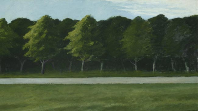 Road and Trees, 1962