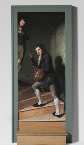 Staircase Group (Portrait of Raphaelle Peale and Titian Ramsay Peale I)