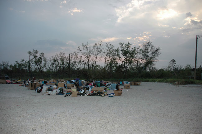 <i>Clothes in Lot</i>, 2005