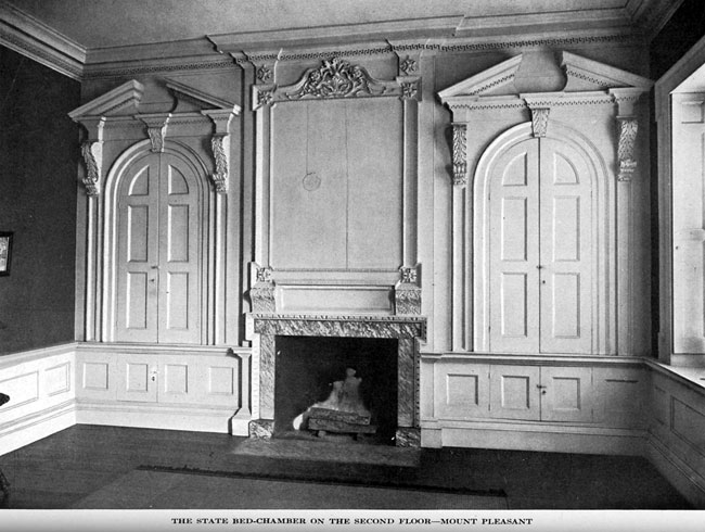 Mount Pleasant drawing room, c. 1900
