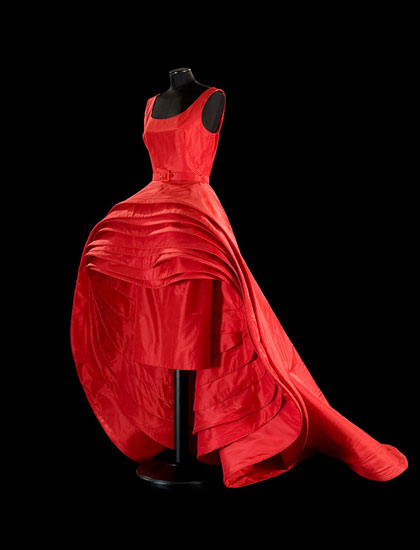 Nove gonne (Nine Dresses) Dress, 1956, silk taffeta (N.39)<br/>