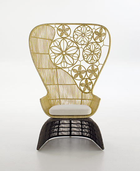 """Crinoline"" Chair, designed 2008"
