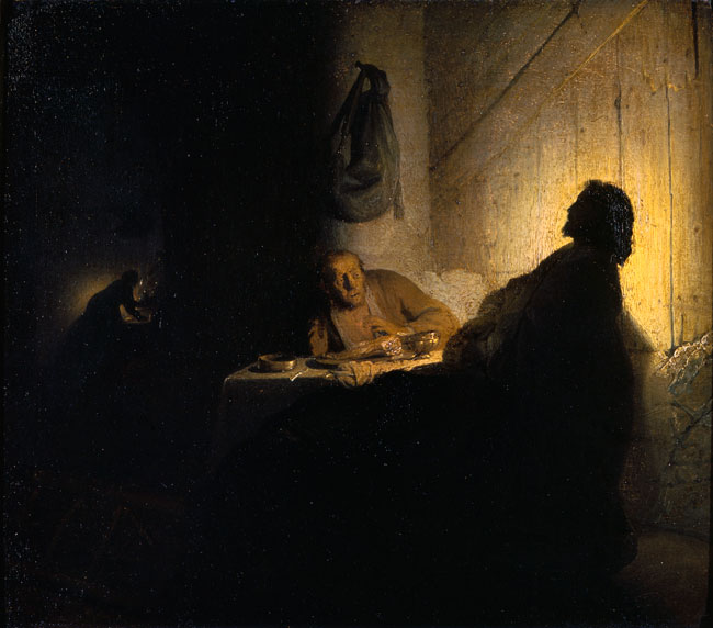 Supper at Emmaus, c. 1628