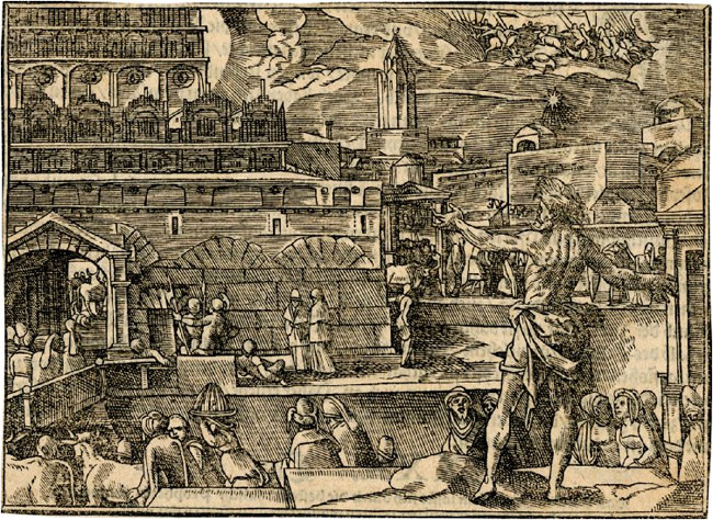 The Temple before Its Destruction, 1574-1578