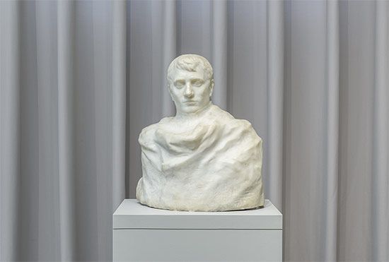 Napoleon Wrapped in His Dream, modeled in clay 1904; carved in marble 1904–9